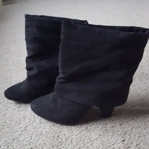 Shoes - Cute Cuffed Boots